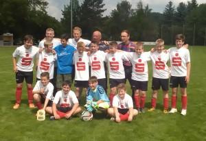 Meister Saison 2015/2016 D-Junioren SV Wacker 22 Auerswalde